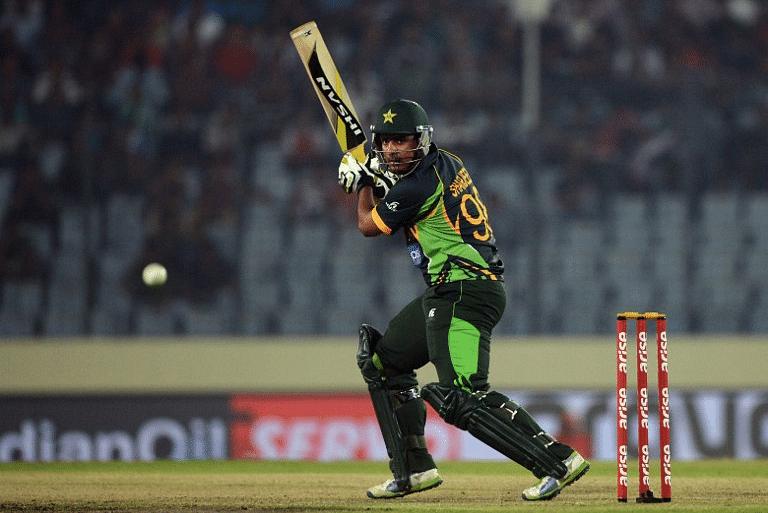 Pakistan cricketer Sharjeel Khan |AFP