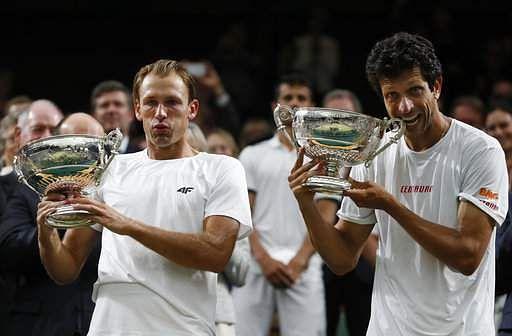 Wimbledon doubles joy for Kubot and Melo after marathon five-set final