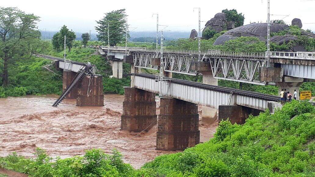 Two Bridges Washed Away In Rayagada, Naveen Seeks 4 Choppers From Centre