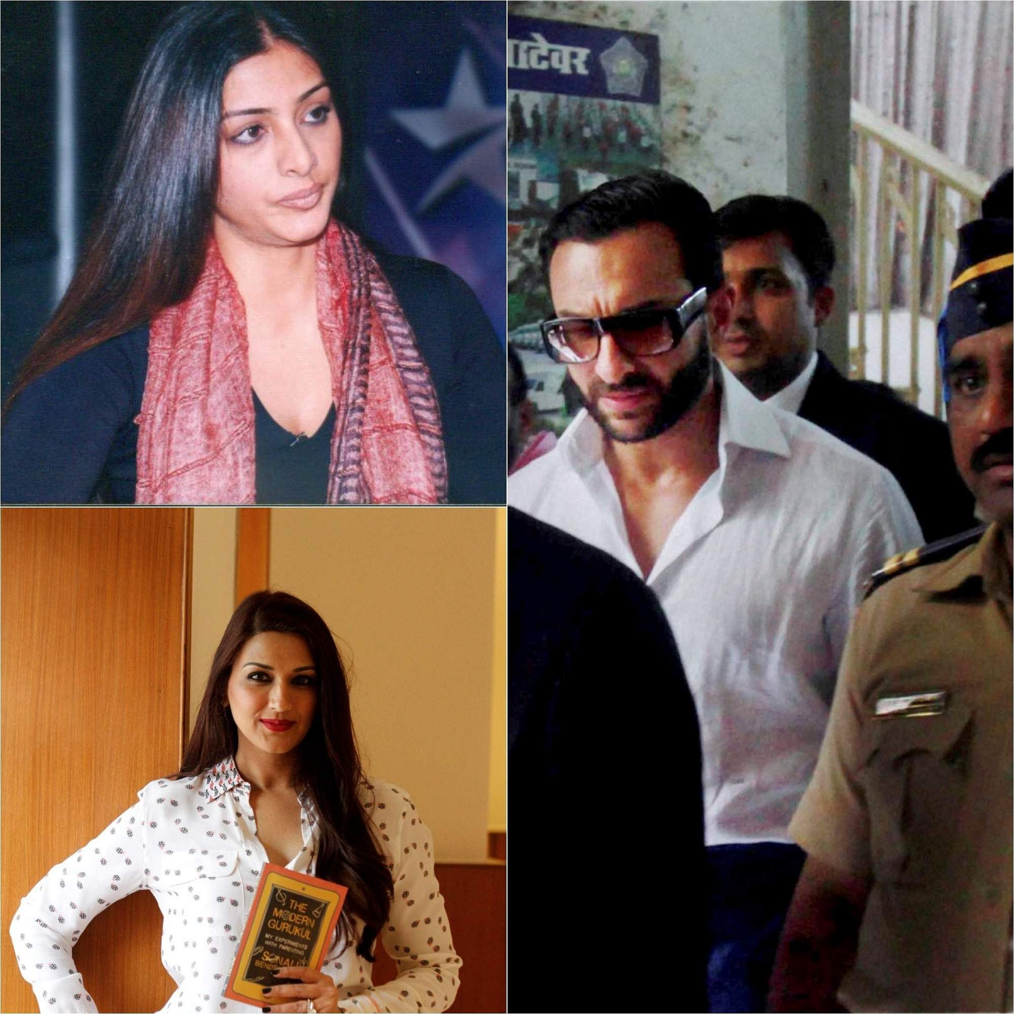 Saif, Tabu, Sonali