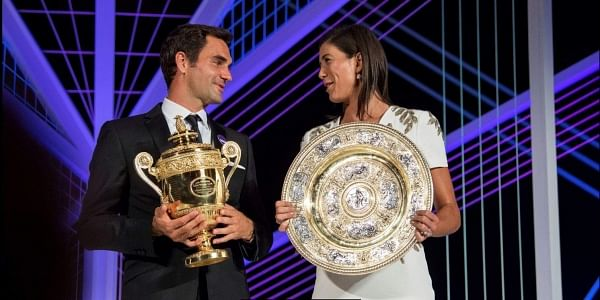 Garbine Muguruza's first championship at the All England Club returns her to the WTA's top 10 at No. 5 on Monday, a rise of 10 spots, while runner-up Venus Williams goes from No. 11 to No. 9.