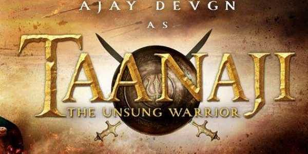 Image result for taanaji the unsung warrior logo