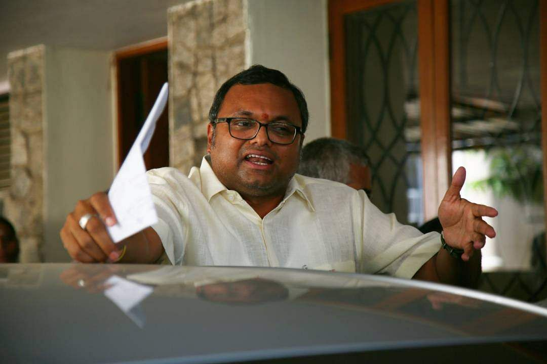 Centre appeals against Madras HC stay on lookout circular against Karti Chidambaram