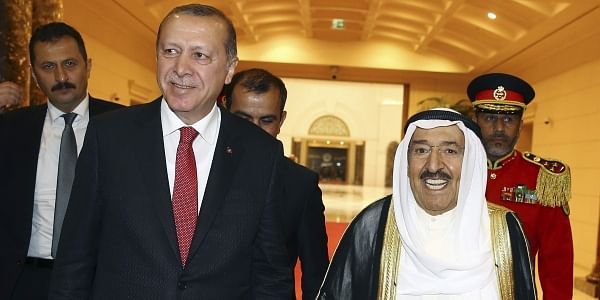 Turkish leader wades into Qatar dispute with Gulf tour- The