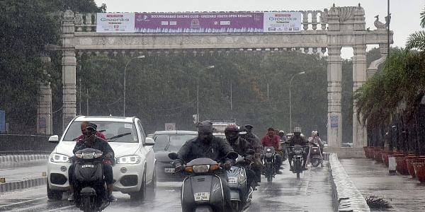 Rain continues on the second day in Hyderabad |Vinay Madapu