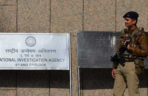 The office of the National Investigation Agency (NIA) in New Delhi. (File   AFP)