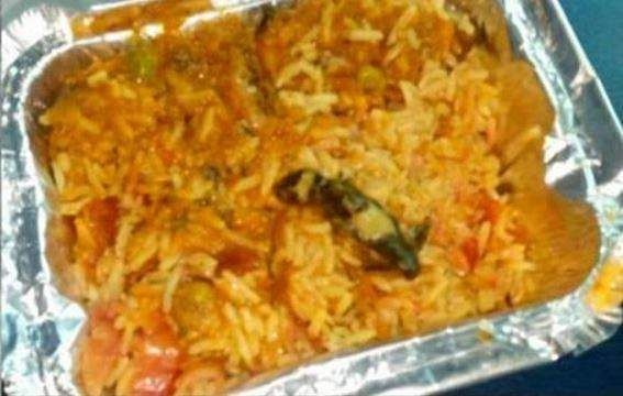 Lizard found in food served to passengers on Poorva Express