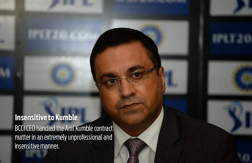 CoA serves notice to BCCI office-bearers for barring Johri from SGM