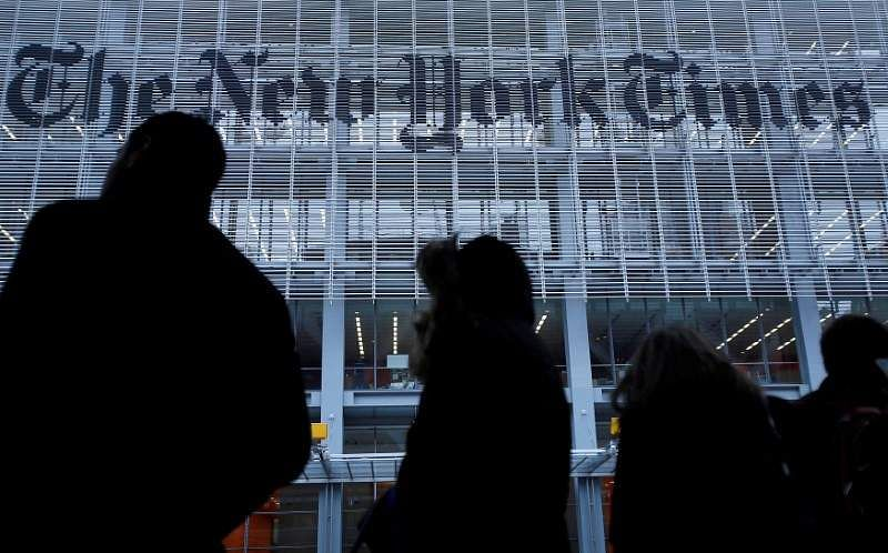 Trump tweets NYT 'failing' but digital subscribers top 2 million, up 67%