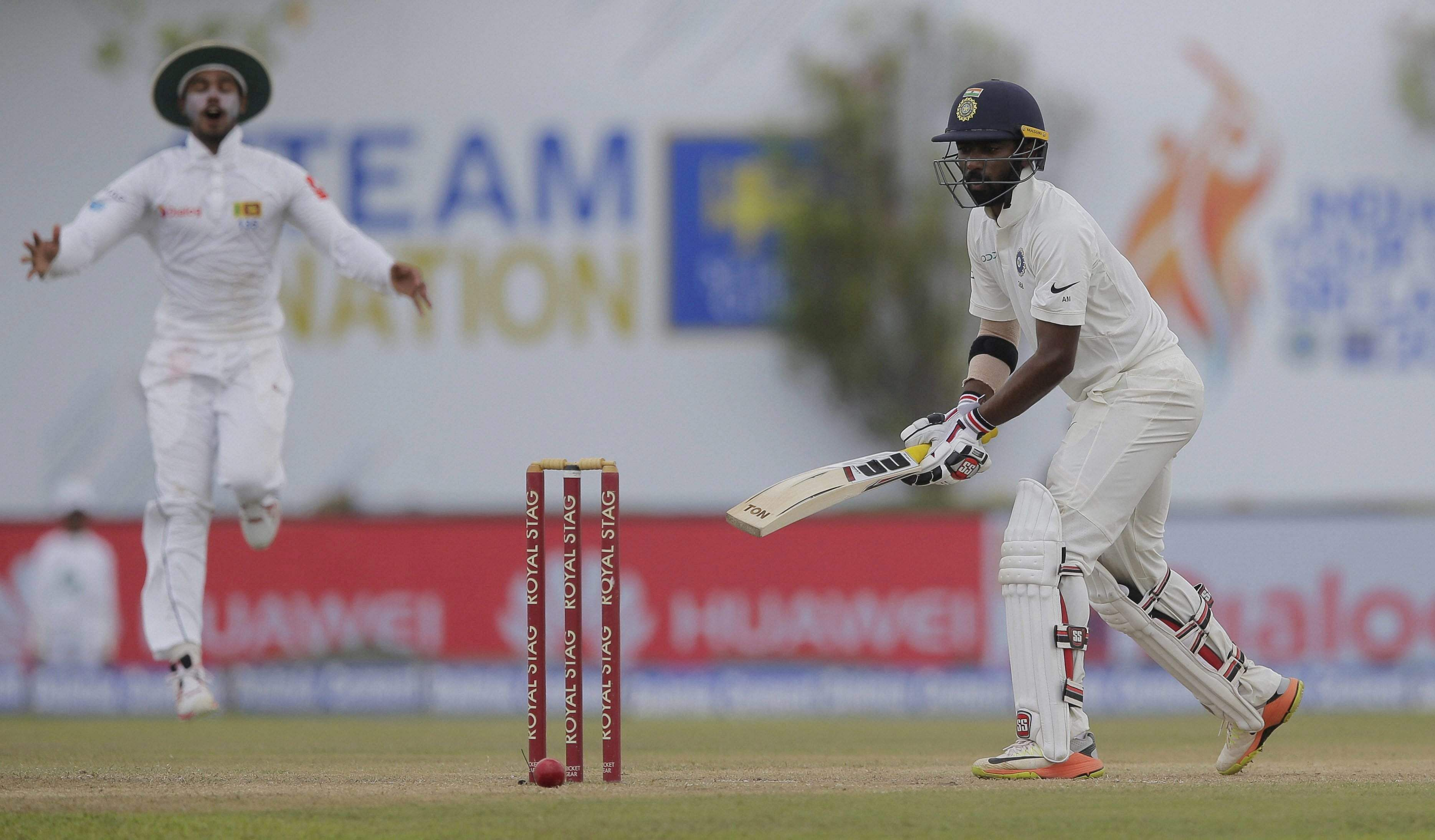 Galle Test: India make 600, Pradeep picks up six