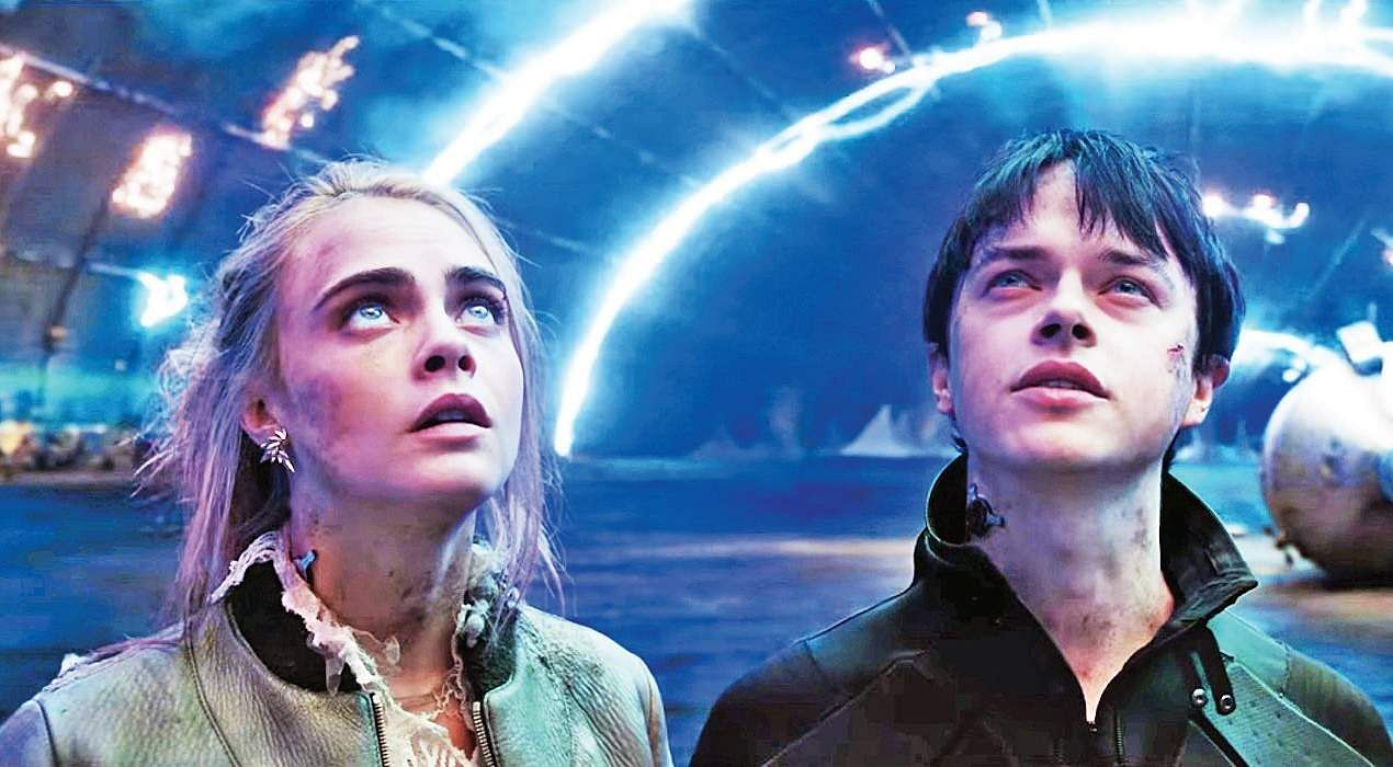 Hasil gambar untuk Valerian and The City of a Thousand Planets