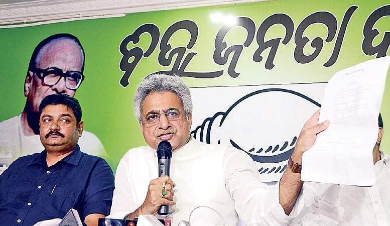 BJP approaches Election Commission against Naveen Patnaik