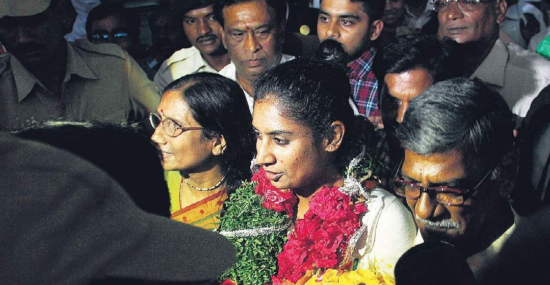 Mithali Raj to be awarded Rs 1 crore by Telangana government