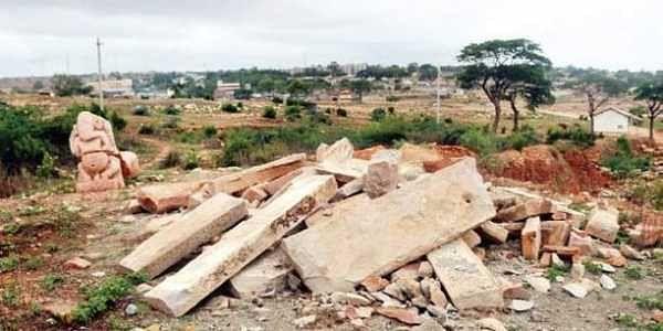 Treasure hunters bring down 1,200-year-old temple near ...