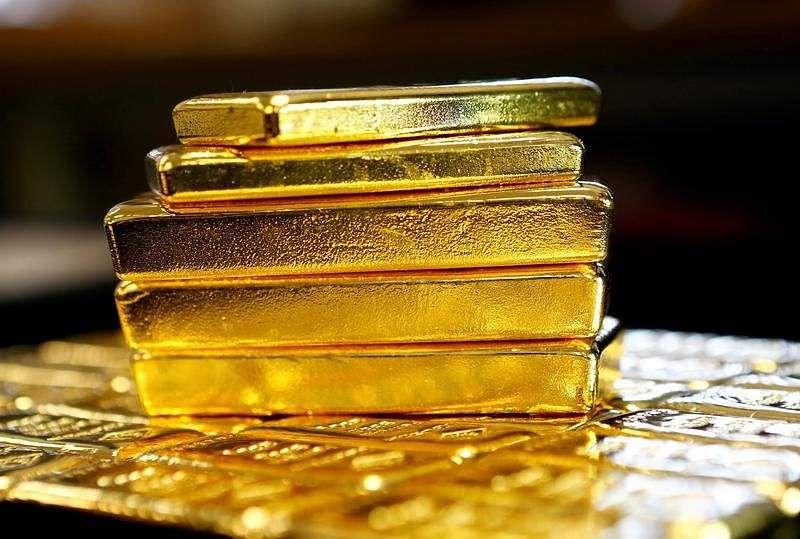 Gold bars   REUTERS