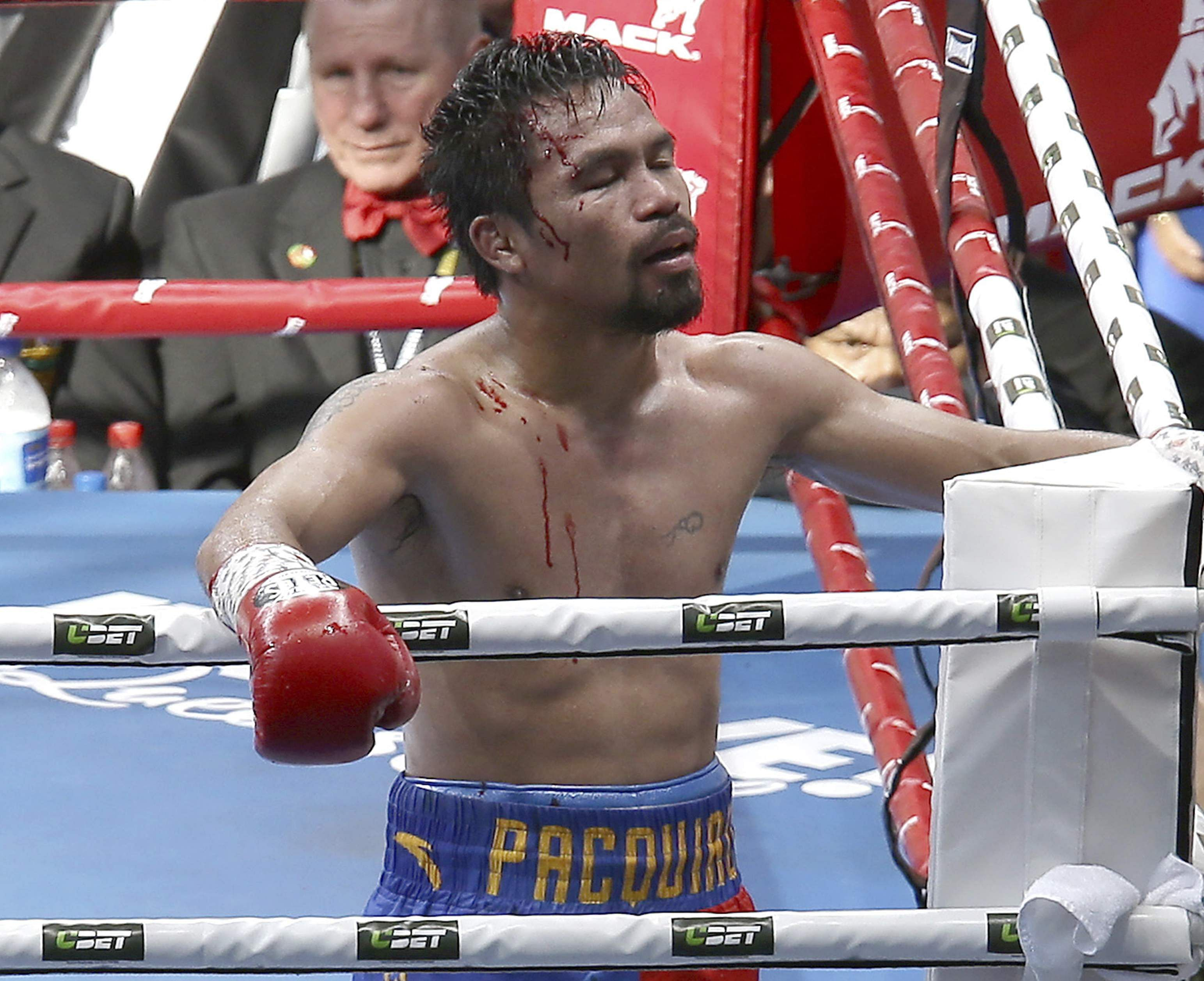Horn brushes off Pacquiao call to review loss