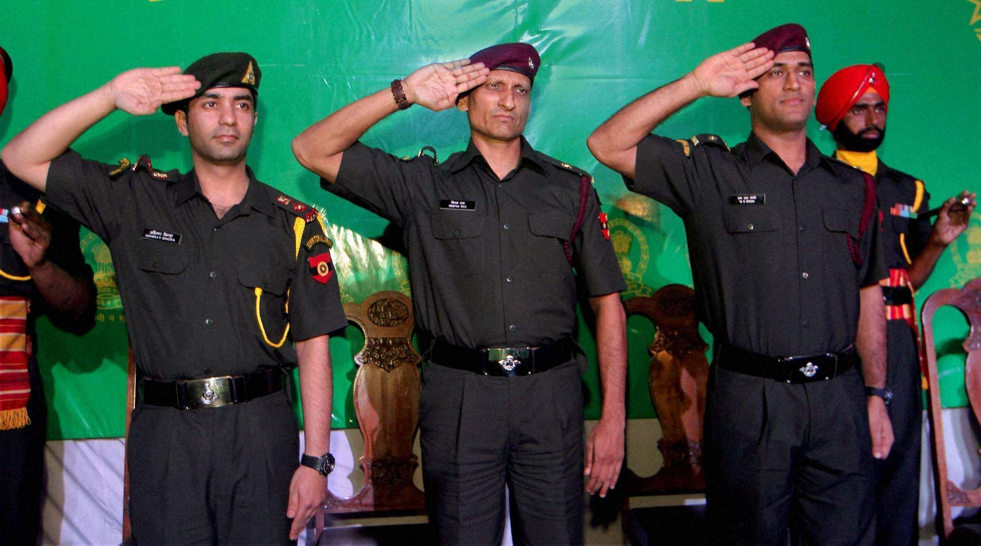 The cricket superstar, who has always spoken of his dream to join the Army, had his wish fulfilled when he was awarded the rank of honorary lieutenant colonel in the Parachute Regiment of the territorial army. | PTI