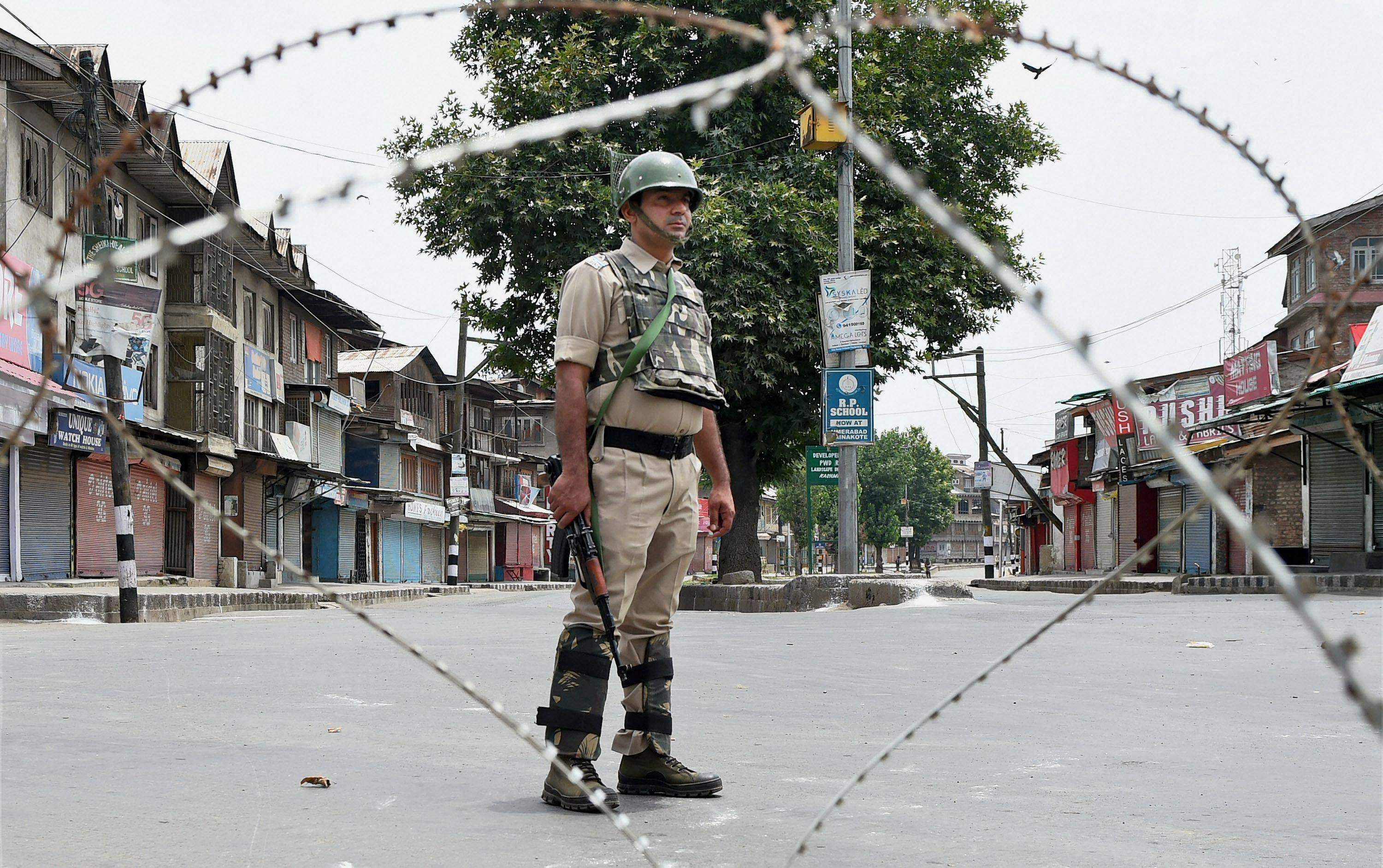 JD(U) holds Congress responsible for unrest in Kashmir