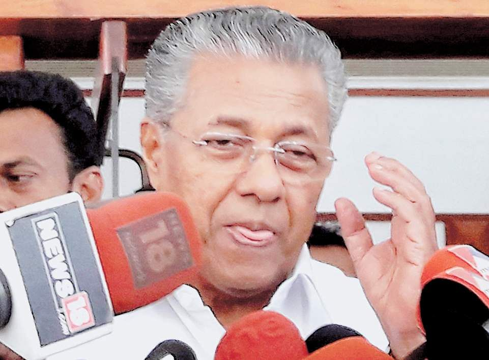 CPI(M) central leadership unhappy with Pinarayi Vijayan's outburst against media