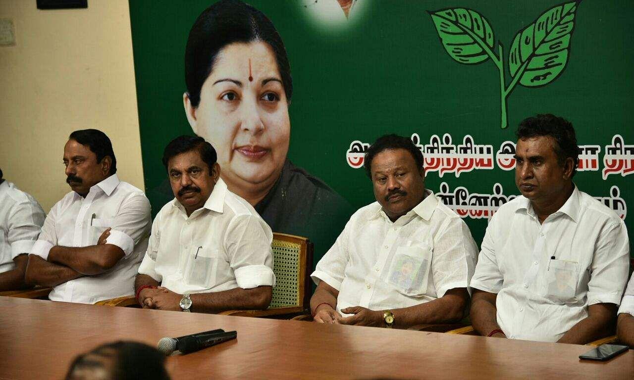 TN CM Edappadi Palanisamy sacks TTV Dinakaran from AIADMK