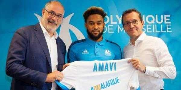 Jordan Amavi joins Olympique de Marseille | Twitter: @OM_English