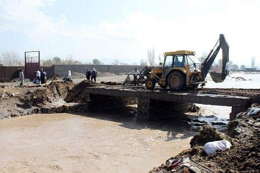 In April, at least 30 people were killed in flash flooding in eastern Azerbaijan.