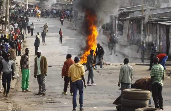 Five people have been killed in post-election violence in Kenya after opposition leader Raila Odinga claimed 'massive' fraud in Tuesday's vote. ( Photo | AP )