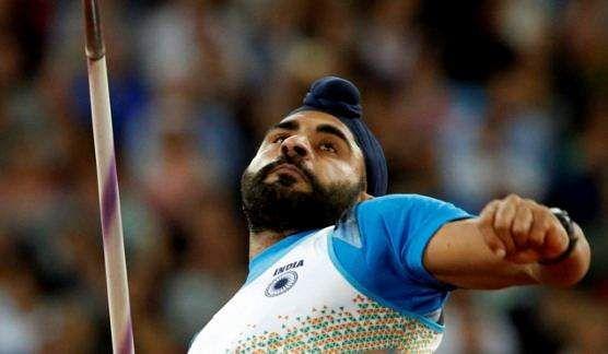 Davinder Singh Kang during the men's javelin qualification round in London | PTI
