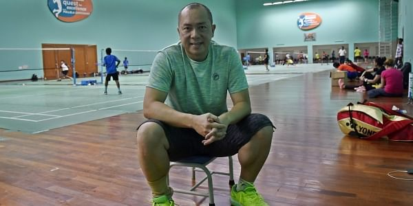 Kim Tan Her is the chief doubles coach | Express Photo Service | Vinay Madapu