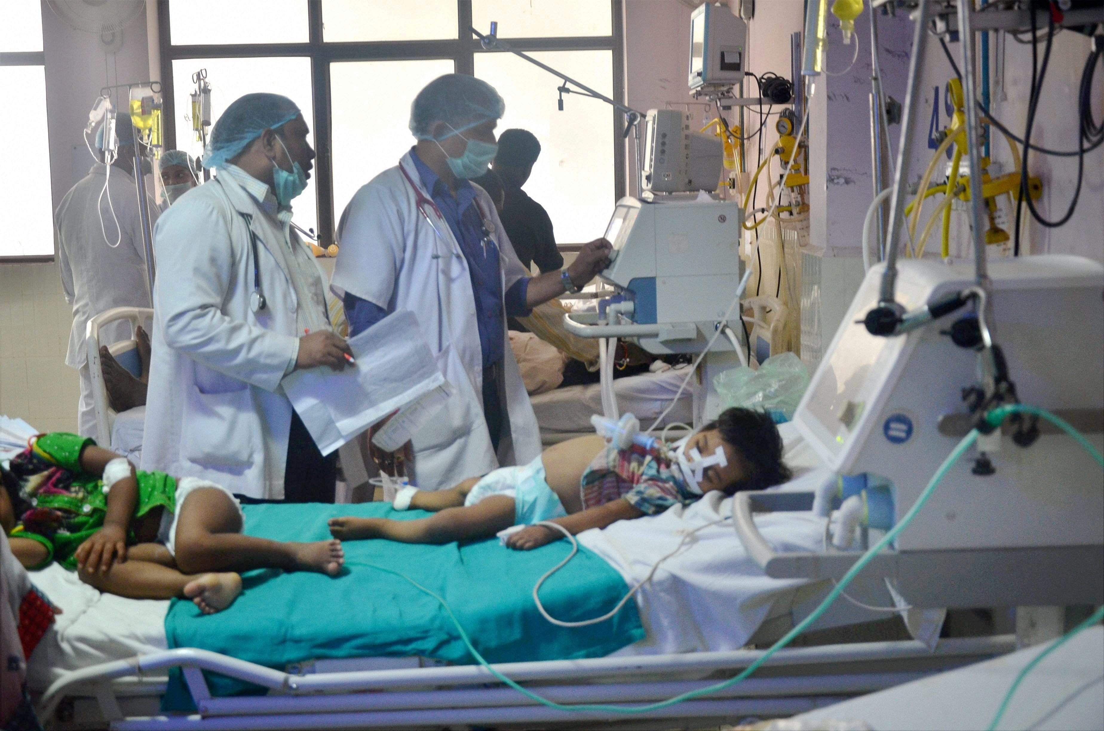 Gorakhpur child deaths: IMA report cites 'administrative negligence'
