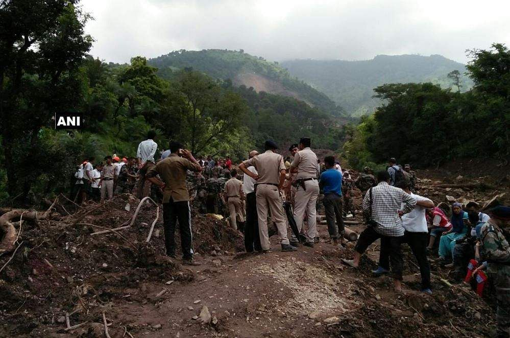 Himachal Pradesh landslide: 12 bodies recovered, PM condoles loss of lives