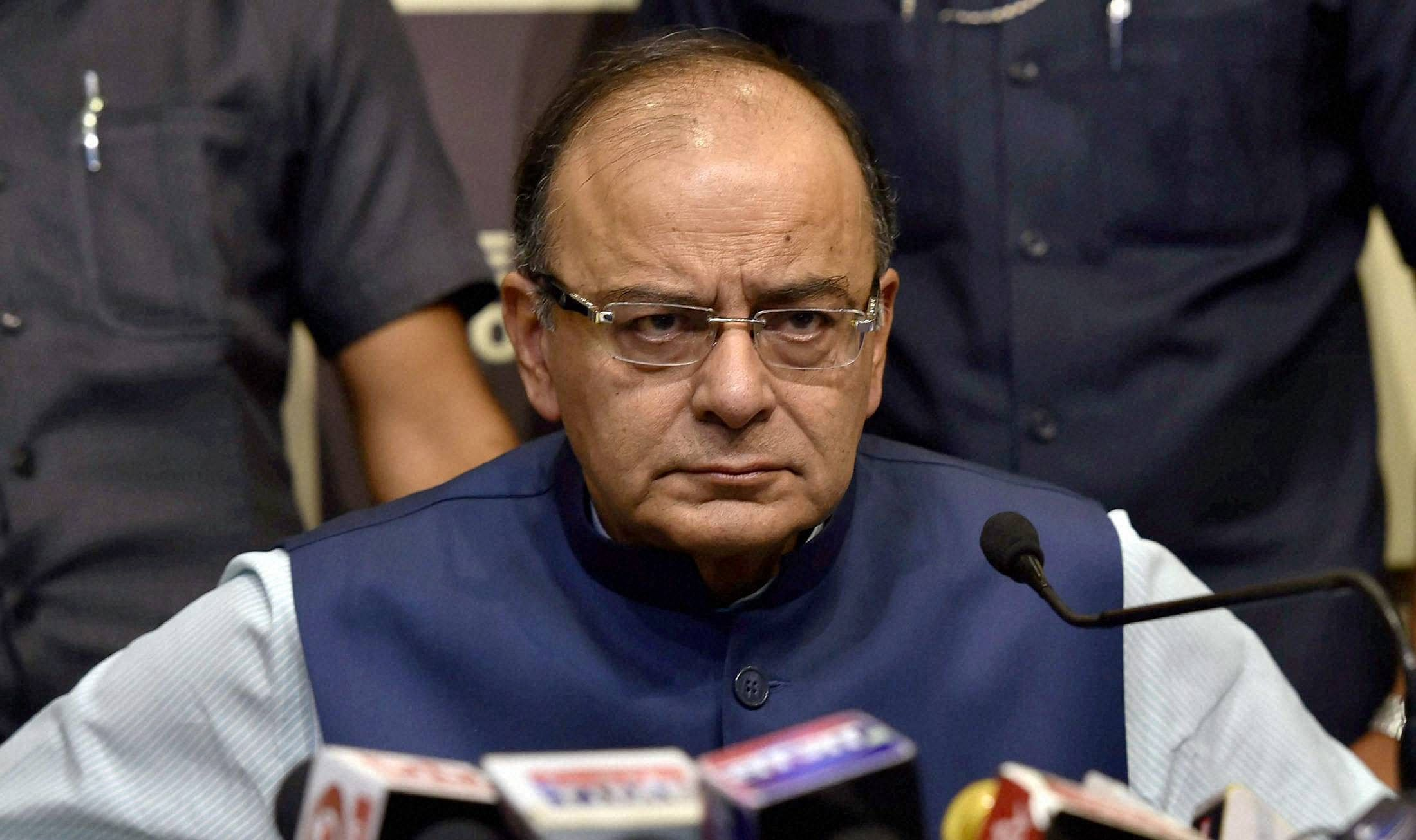 Union Finance Minister Arun Jaitley. (File photo | PTI)