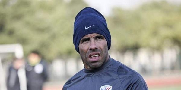 Shanghai Shenhua striker Carlos Tevez | AFP