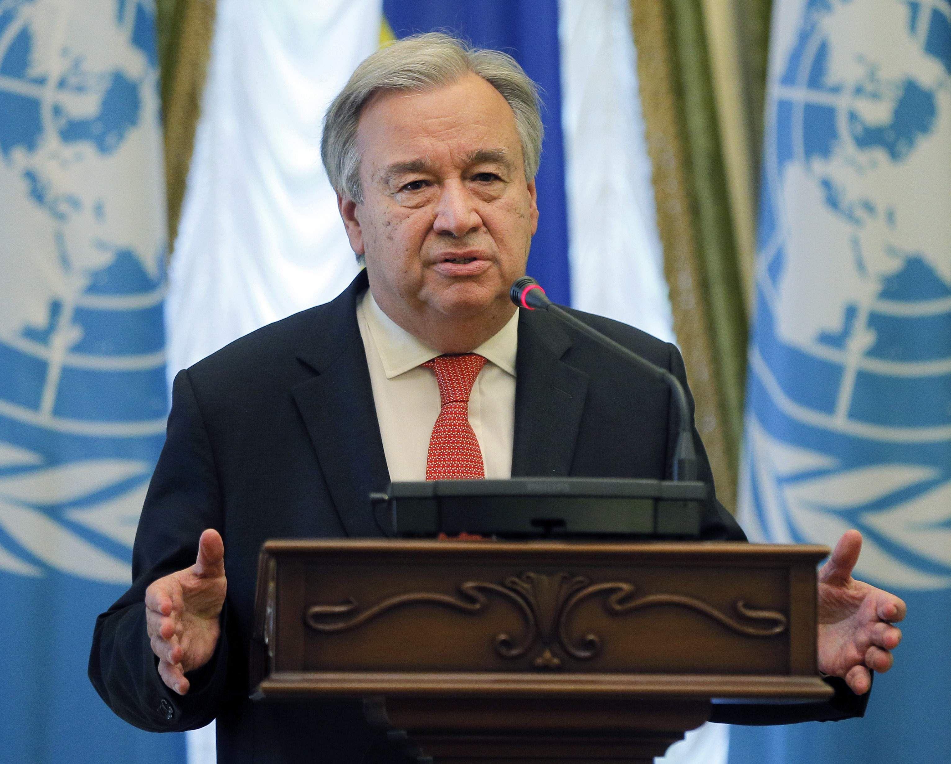 Tensions on Korean Peninsula Highest in Decades — UN Chief