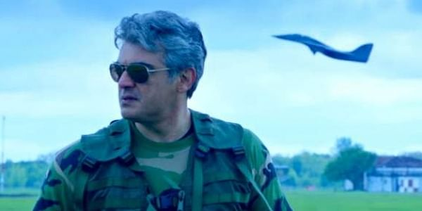 Ajith in 'Vivegam' trailer. (Photo | Youtube)