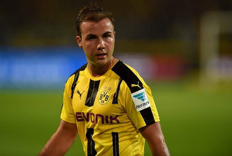 Gotze to make first Borussia Dortmund start in seven months