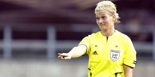 Just last week, for the first time, German referee Bibiana Steinhaus officiated a men's Bundesliga match. (File | AP)