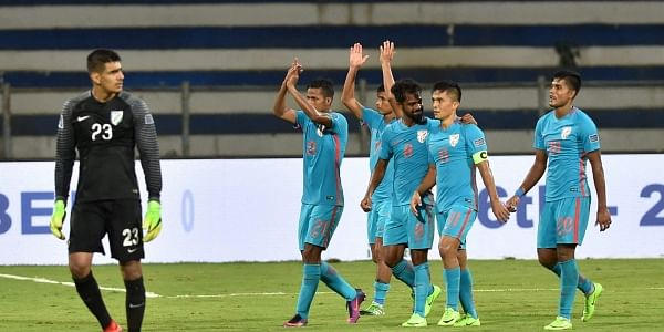 India's next 2019 AFC Asian Cup qualifying game will be against Macau, in Macau, on September 5. (File   PTI)