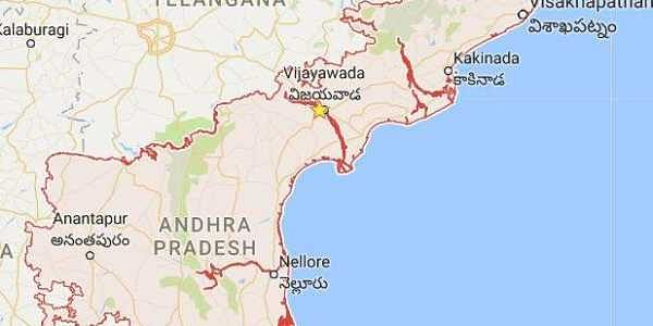 TS, AP govts to repatriate native employees in 'equal number ... Map Of Andhra Pradesh And Telangana on telangana seemandhra and, telangana districts list, telangana state map, state regions map, malabar coast india map, ap map,