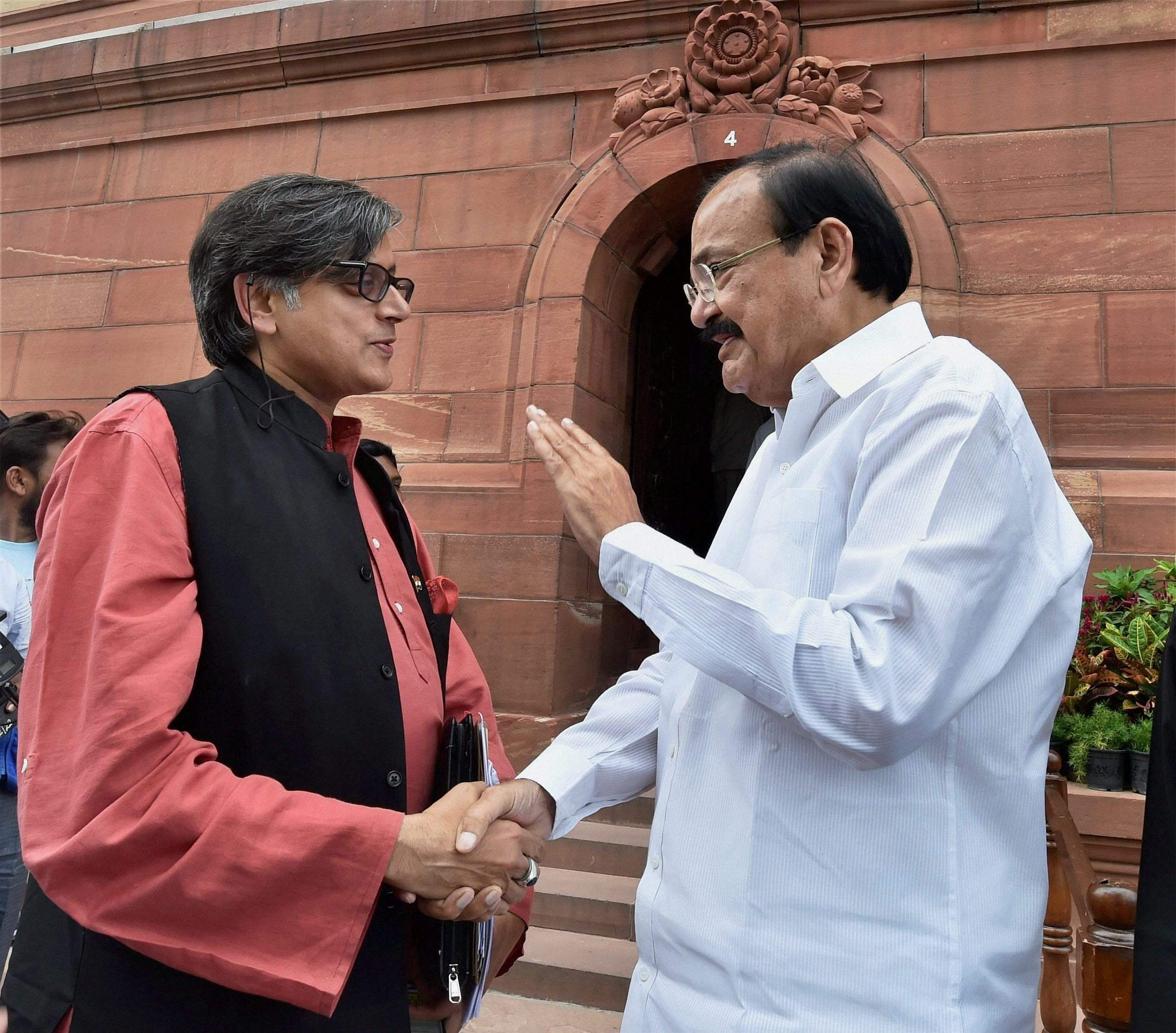 Political Leaders Congratulate Venkaiah Naidu On Vice Presidential Poll Win