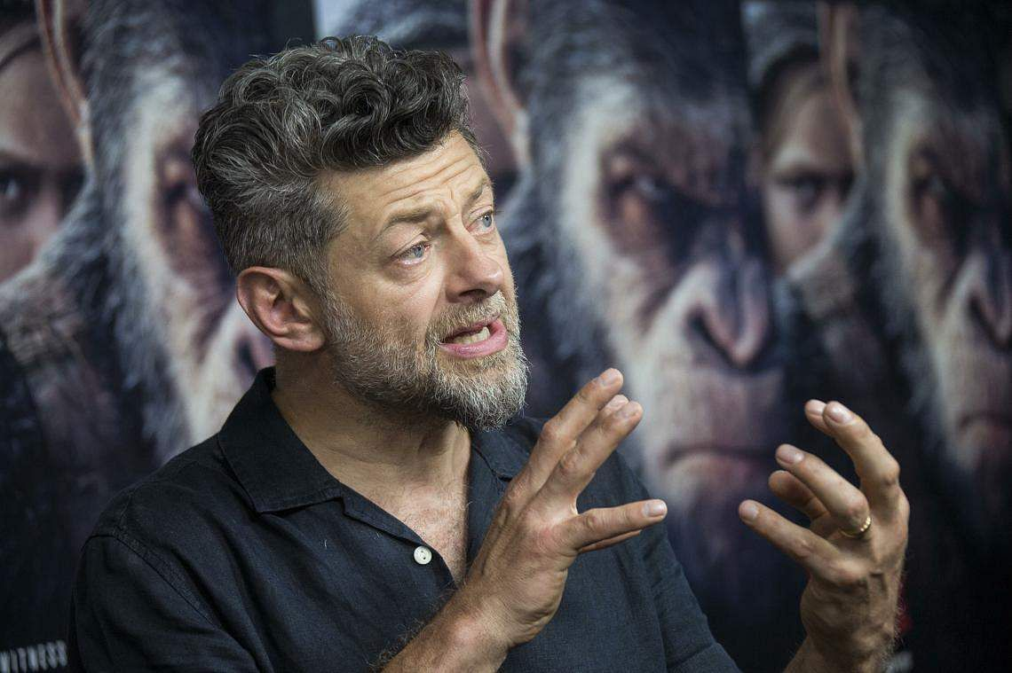 Hollywood actor Andy Serkis