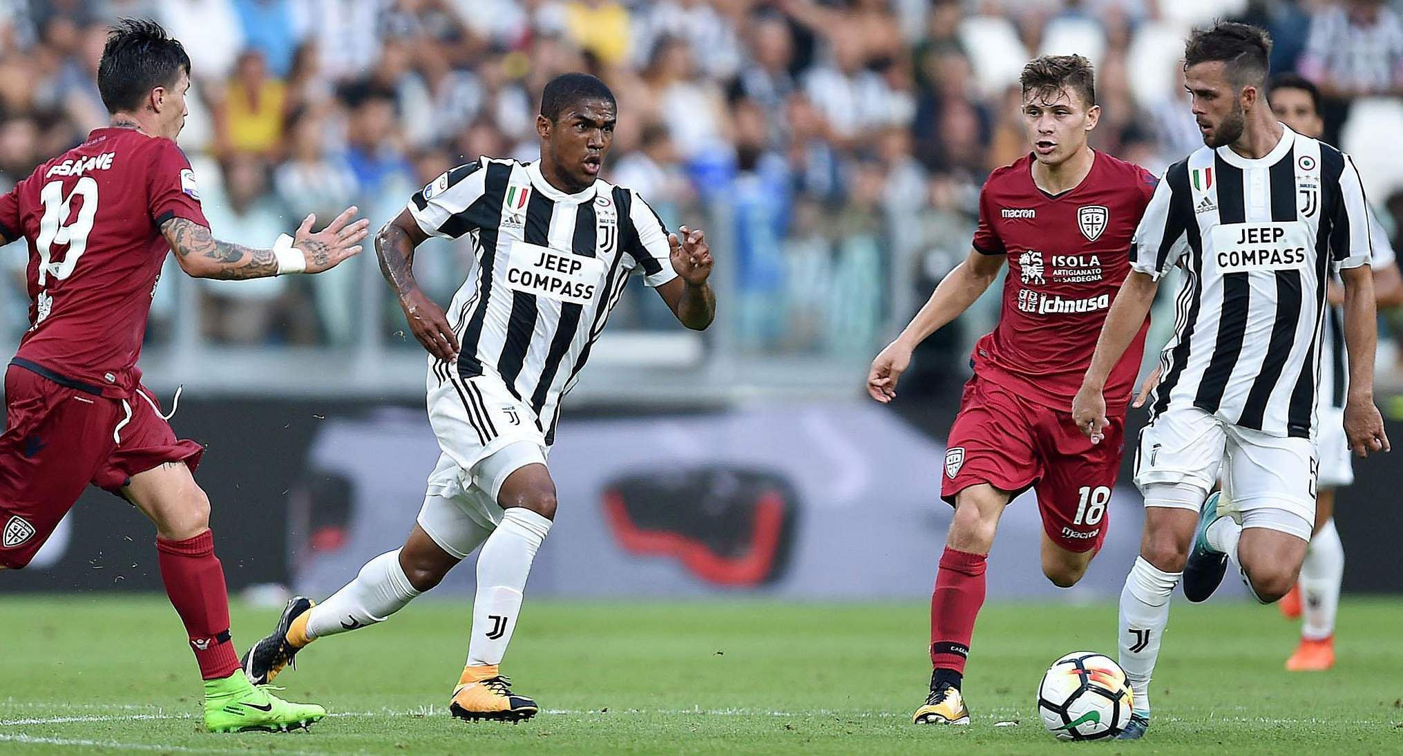 Juventus downs Cagliari 3 0 in Serie A opener The New Indian Express