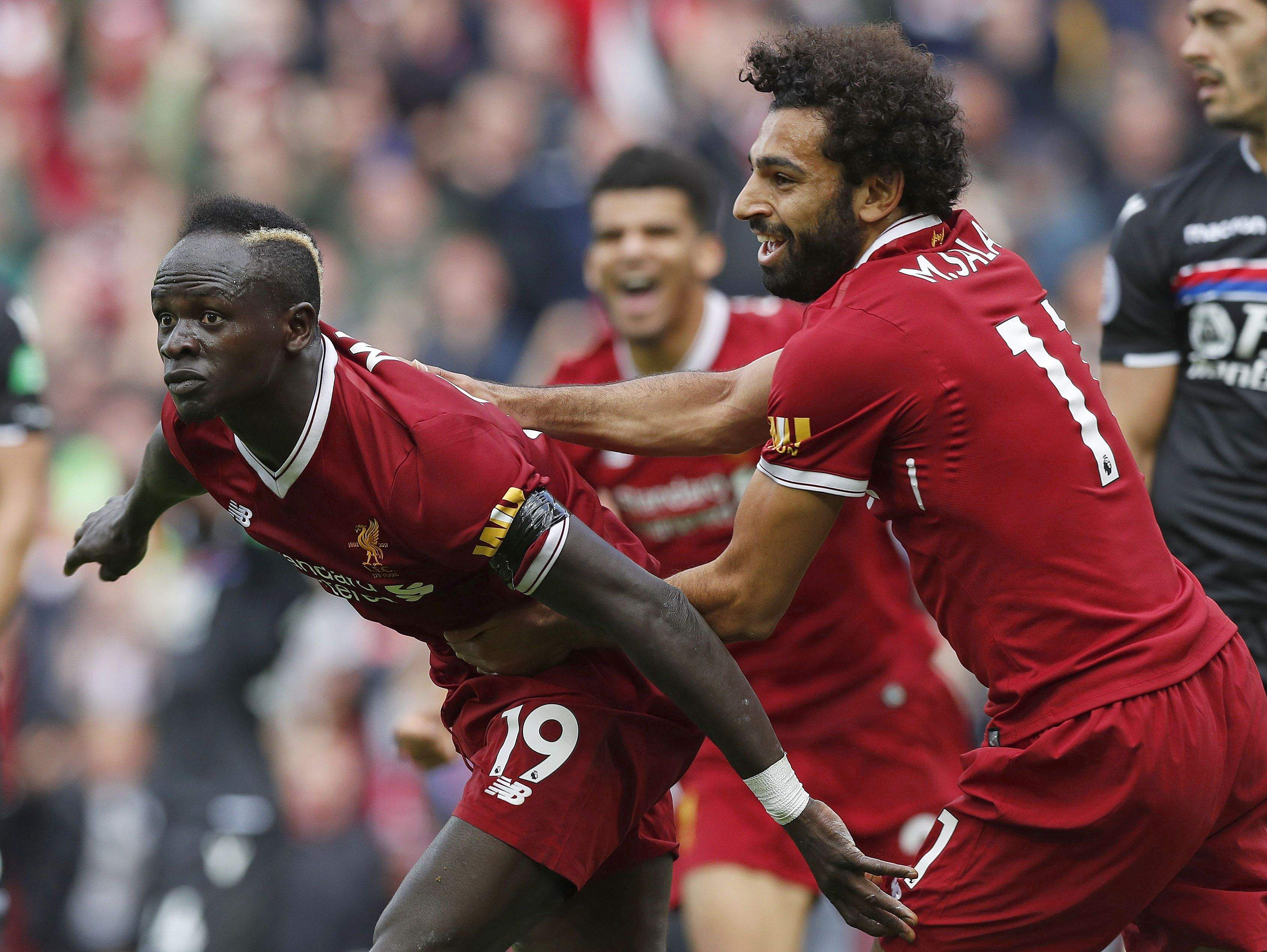 Debutant Solanke, Mane inspire Liverpool to Crystal Palace victory