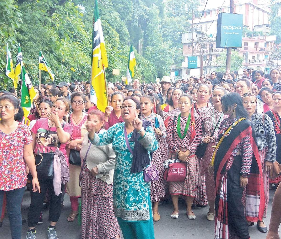 GJM chief booked for alleged involvement in Kalimpong police station attack