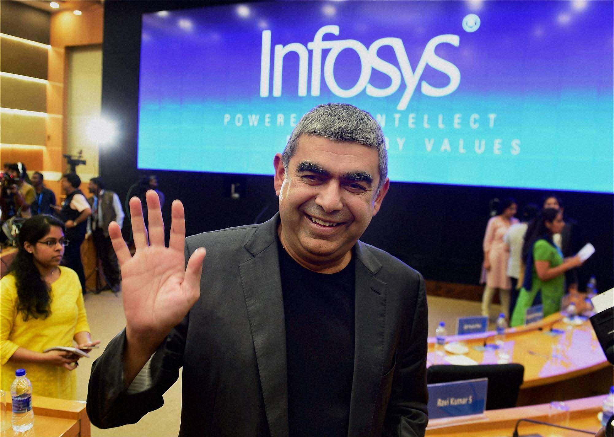 Sensex, Nifty open higher, Infosys extends losses