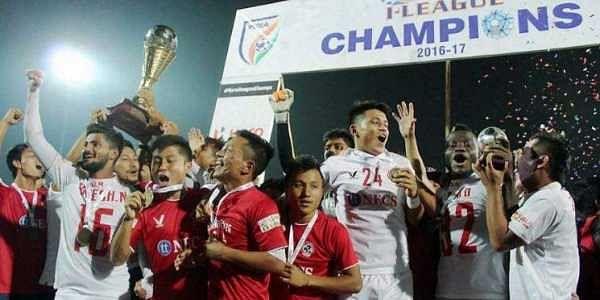 Hero I-League champions Aizawl FC (Twitter | Aizawl FC)