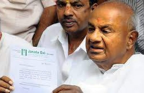 Former Prime Minister and JD(S) supremo H D Deve Gowda. | File photo