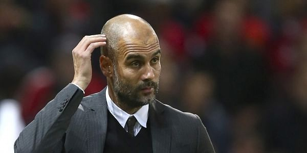 Manchester City manager Pep Guardiola expressed fears that his team's goal-scoring problems remain an issue. | AP