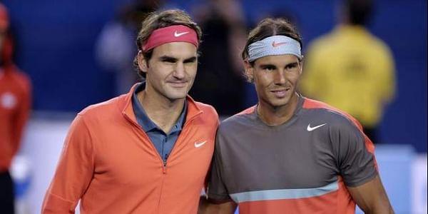 Roger Federer, left, and Rafael Nadal have never met at the US Open. (File | AP)