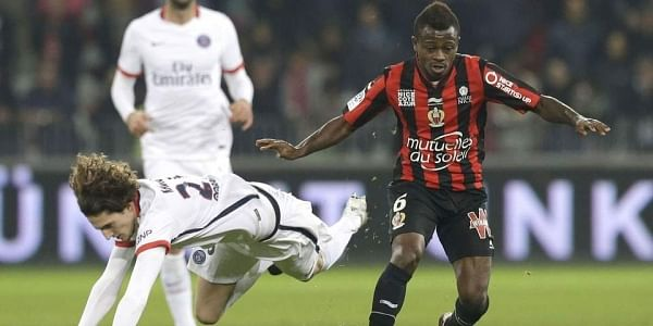 Jean-Michel Seri (R) has allegedly reached agreement on the terms of a contract already with Barcelona, say reports. (File   AP)